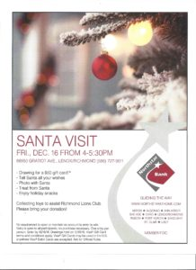 Santa's Coming to Northstar