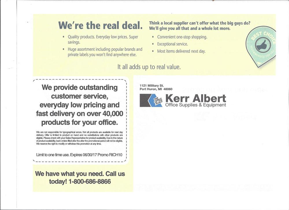 Attractive Kerr Albert Office Supplies U0026 Equipment