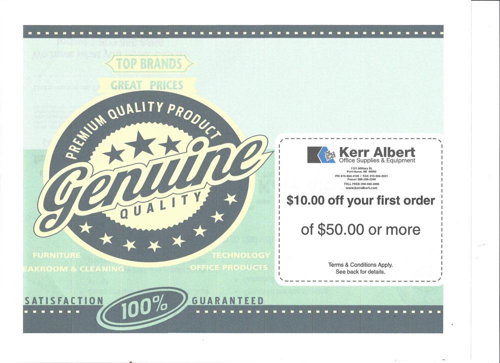 Ka discount coupons
